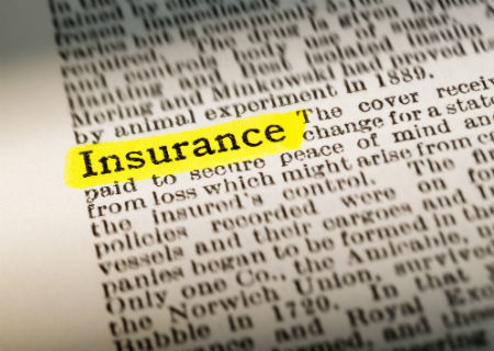 Insurance highlighted in text