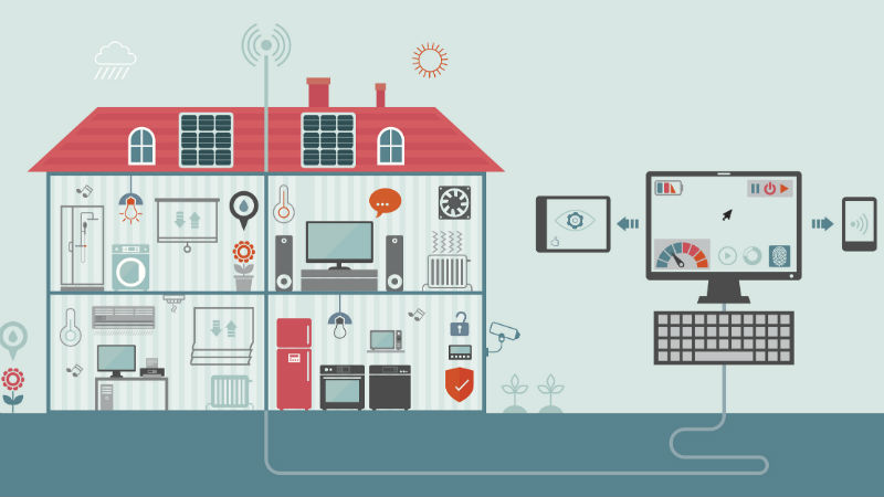 Graphic for Smart Home