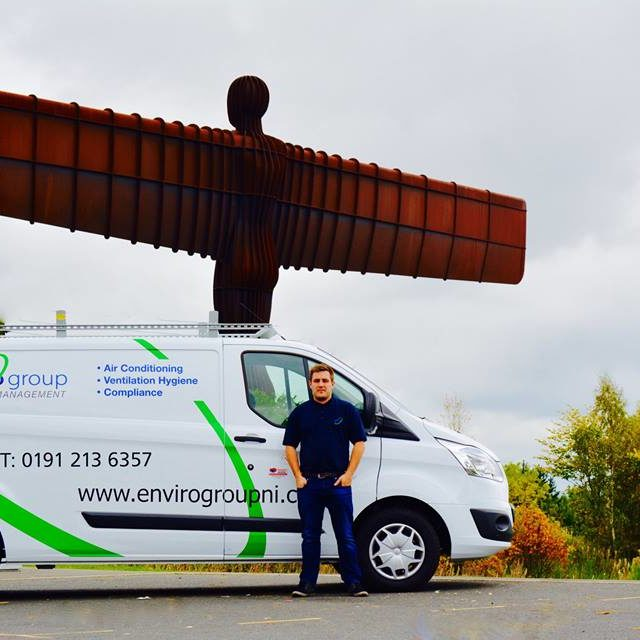 Ben Walker from Envirogroup North East
