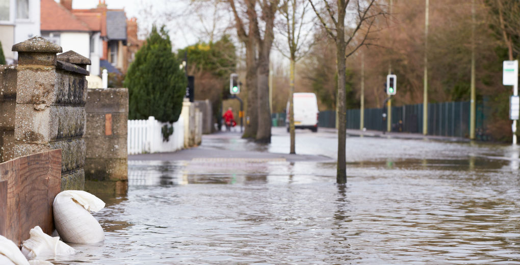 Flooded town to reflect flood insurance in Northumberland and Newcastle