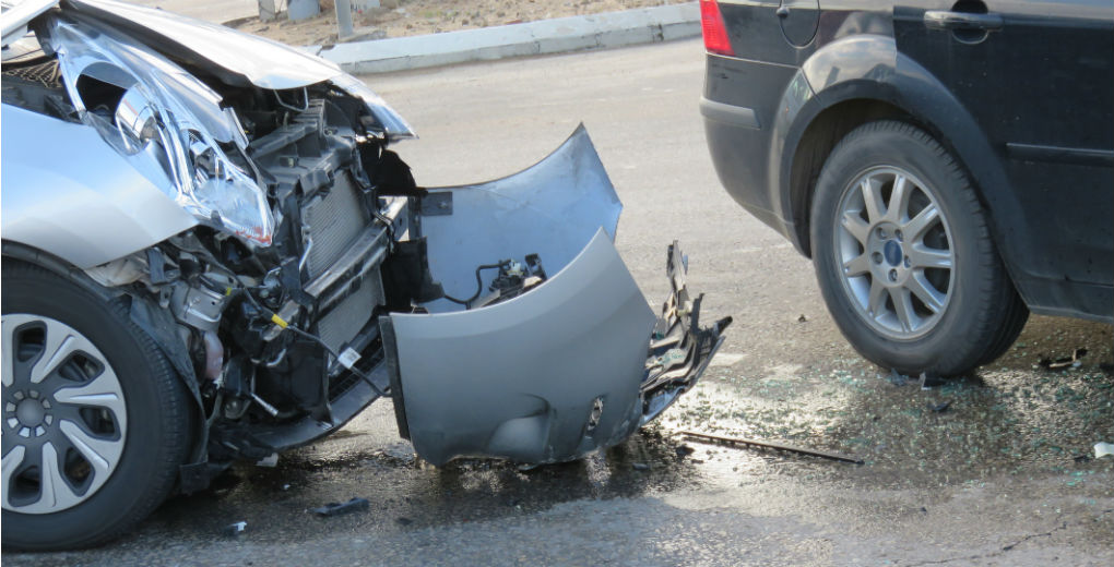 Car wreck square to reflect motor insurance in Northumberland and Newcastle